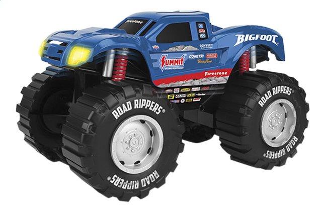 Afbeelding van Road Rippers Monster Truck Mega Big Sound Monster Truck Bigfoot blauw from ColliShop