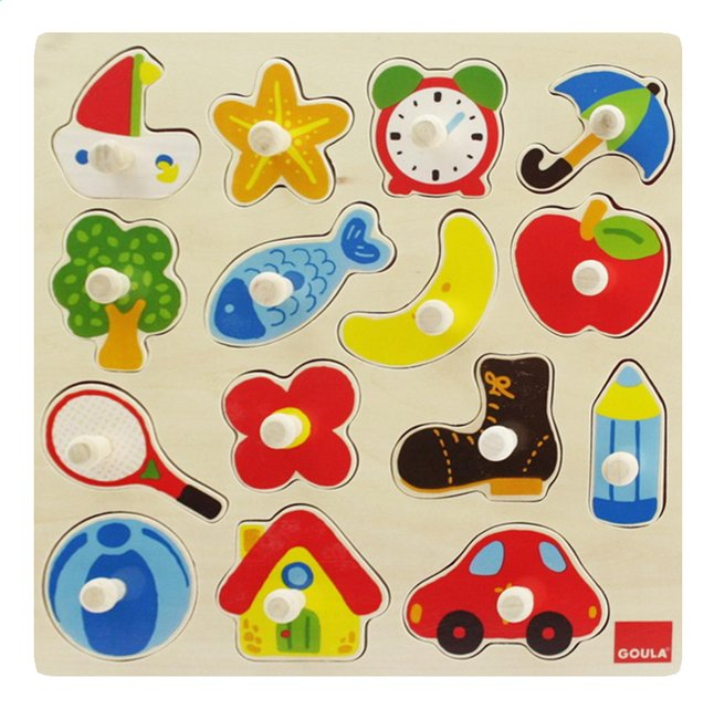 Image pour Goula puzzle à boutons Silhouettes à partir de ColliShop