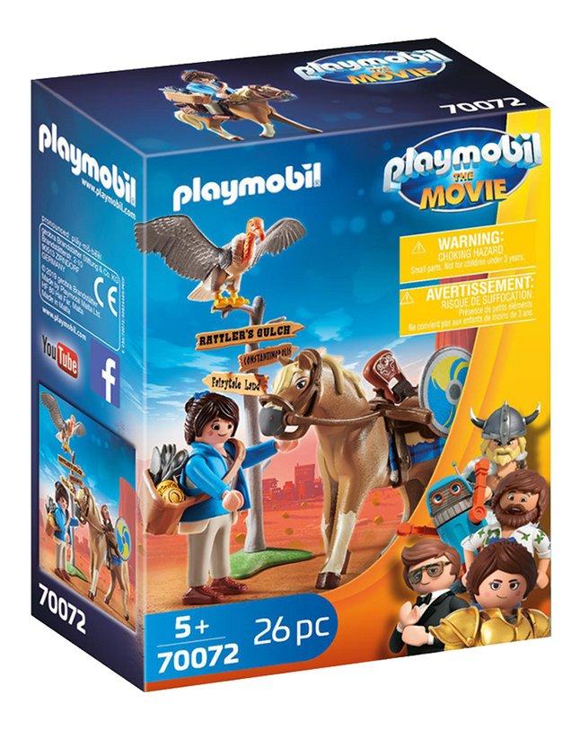 PLAYMOBIL The Movie 70072 Marla avec cheval
