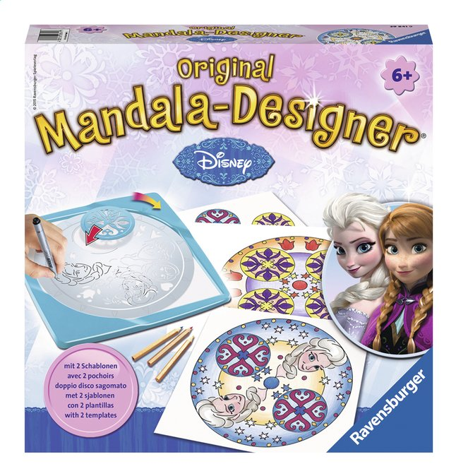 Afbeelding van Ravensburger Original Mandala-Designer Disney Frozen from ColliShop