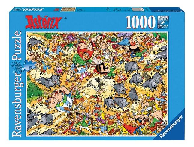 Image pour Ravensburger puzzle Astérix : Chasse aux sangliers à partir de ColliShop
