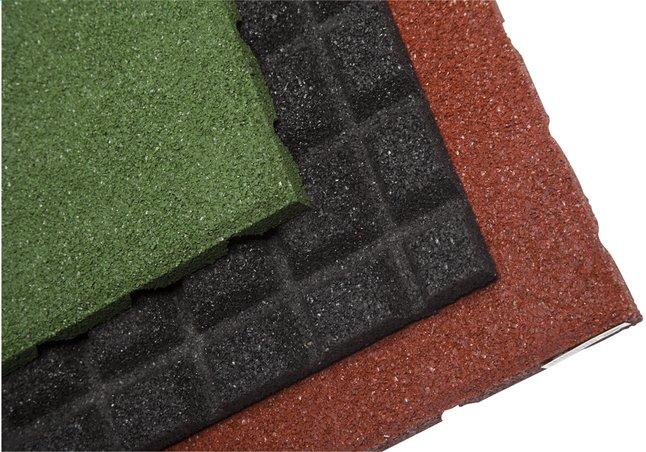 Image pour Dalle en caoutchouc vert à partir de ColliShop