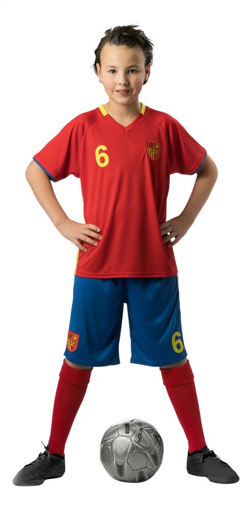 Afbeelding van Voetbaloutfit Spanje maat 110 from ColliShop
