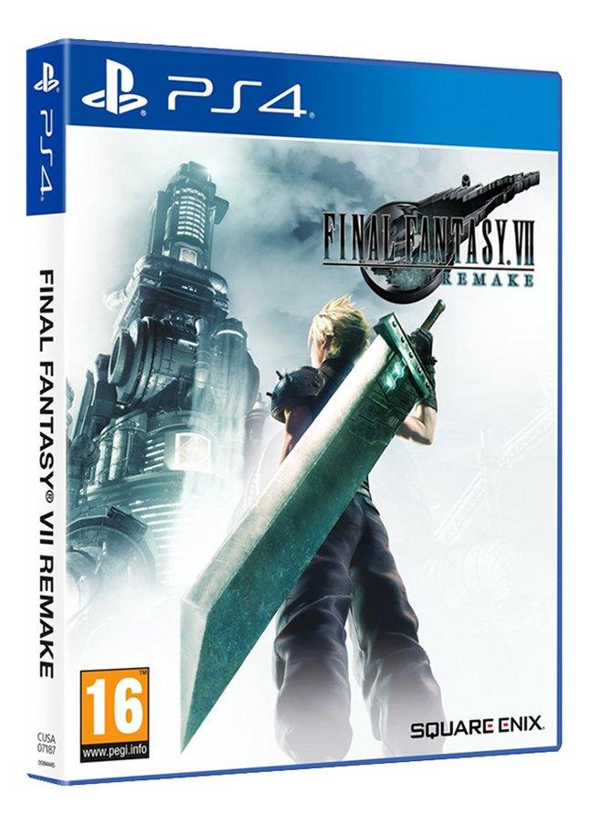 PS4 Final Fantasy VII Remake FR/ANG