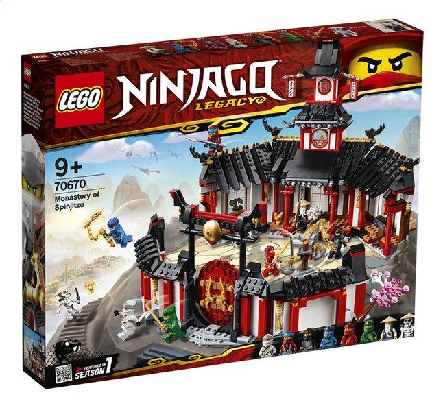 Image pour LEGO Ninjago 70670 Le monastère de Spinjitzu à partir de ColliShop