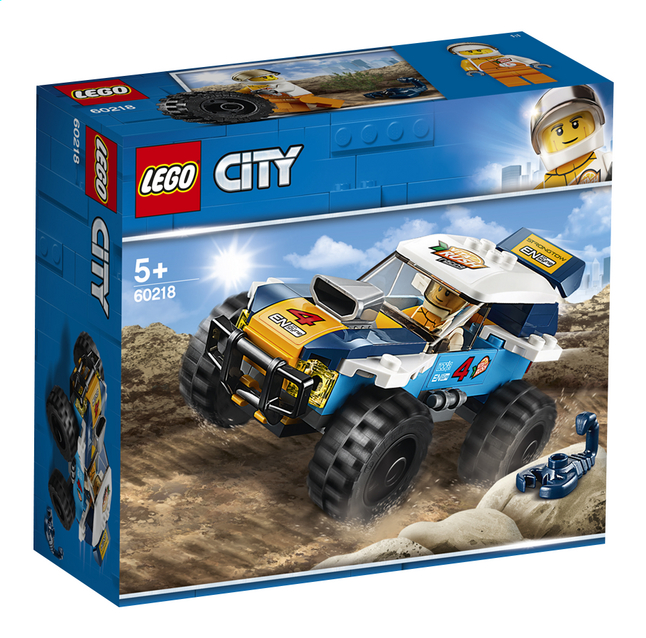 Afbeelding van LEGO City 60218 Woestijn rallywagen from ColliShop