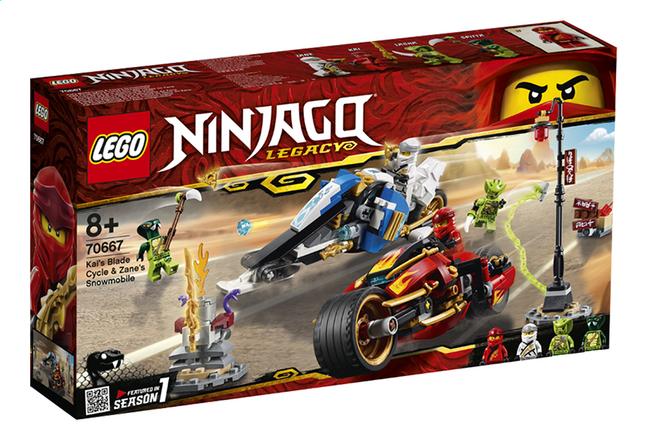 Image pour LEGO Ninjago 70667 La moto de Kai et le scooter des neiges de Zane à partir de ColliShop