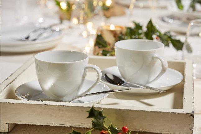 Image pour Mistral Home Chemin de table blanc L 145 x Lg 45 cm à partir de ColliShop