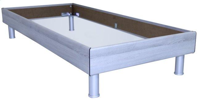 Image pour Cadre de lit Athena décor chêne grisé 90 x 200 cm à partir de ColliShop