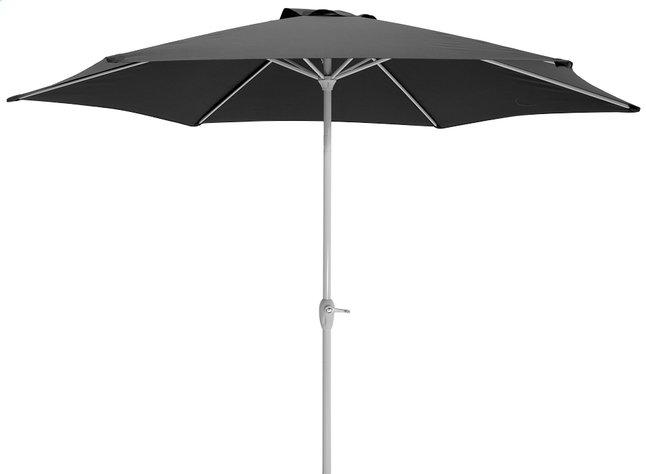 Afbeelding van Aluminium parasol diameter 3 m zwart from ColliShop