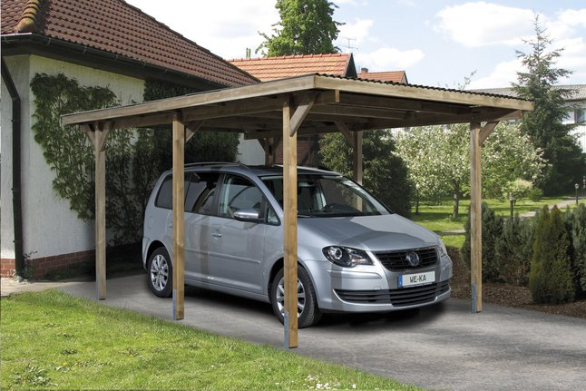 Afbeelding van Weka carport Primus 1 from ColliShop