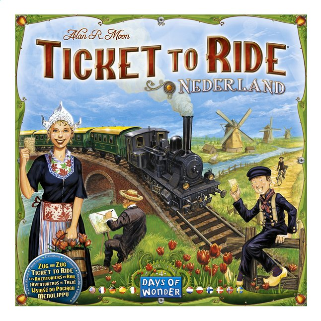 Afbeelding van Ticket to Ride: Nederland from ColliShop