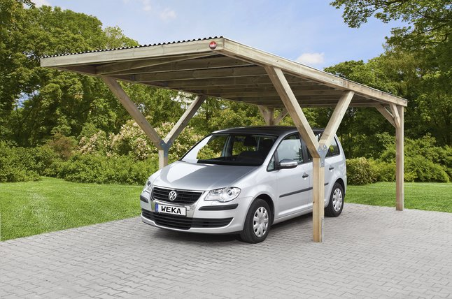 Afbeelding van Weka carport Y from ColliShop