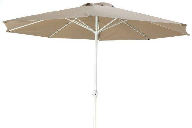 Afbeelding van Aluminium parasol diameter 3,5 m taupe from ColliShop