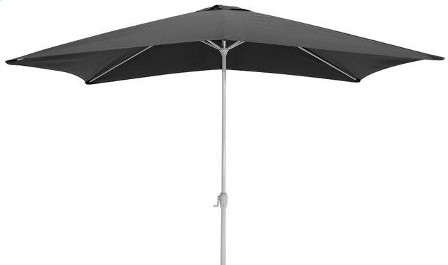 Image pour Parasol en aluminium 2 x 3 m noir à partir de ColliShop