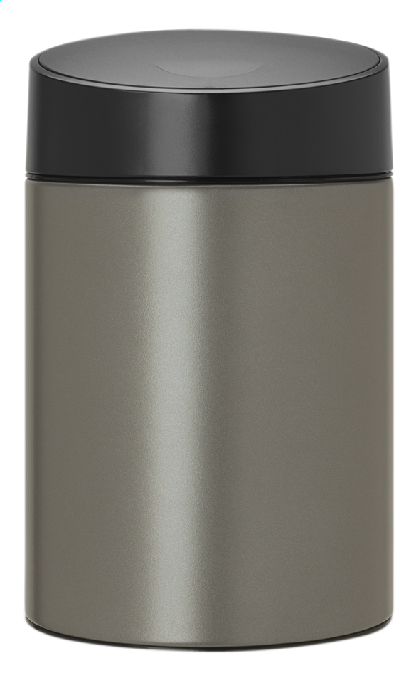 Afbeelding van Brabantia afvalemmer Slide Bin 5 l platinum from ColliShop