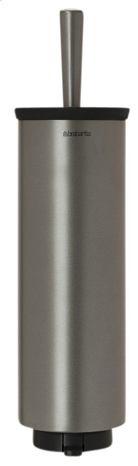 Afbeelding van Brabantia wc-borstel met houder platinum from ColliShop