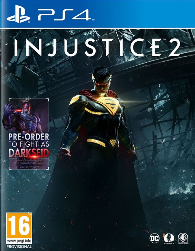 Afbeelding van PS4 Injustice 2 ENG/FR from ColliShop