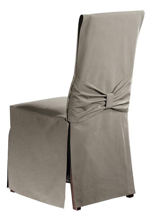 Mistral housse pour chaise torino uniline walnut collishop - Housse chaise habitat ...
