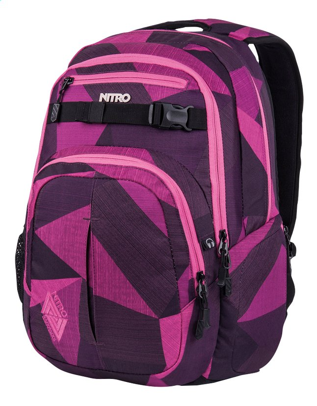 Image pour Nitro sac à dos Chase Fragments Purple à partir de ColliShop