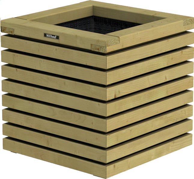 Image pour Hillhout Jardinière Elan brun 50 x 50 x 50 cm à partir de ColliShop