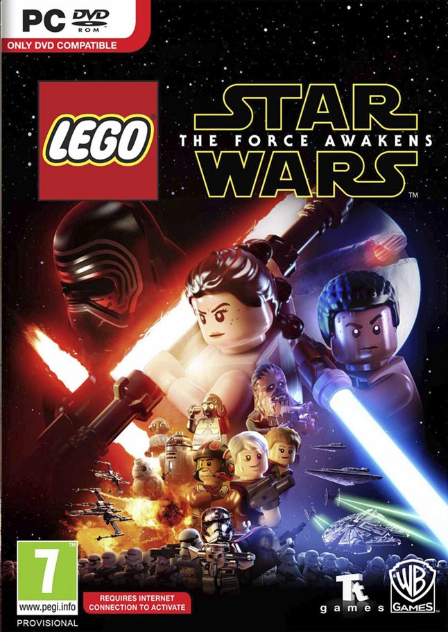Afbeelding van Pc LEGO Star Wars: The Force Awakens ENG/FR from ColliShop