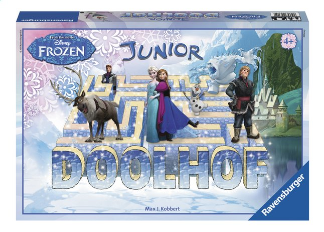 Image pour Ravensburger Disney La Reine des Neiges Junior Doolhof NL à partir de ColliShop