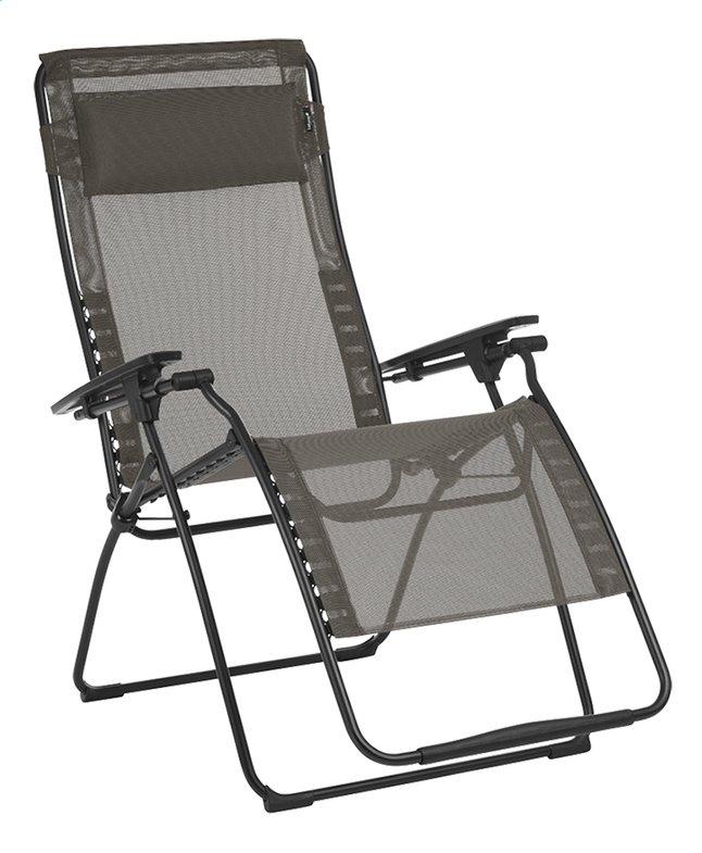Image pour Lafuma chaise longue Futura XL Batyline Graphite à partir de ColliShop