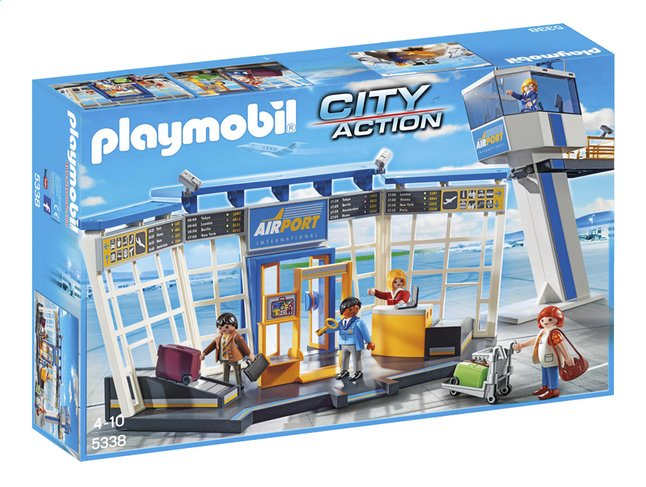 Afbeelding van Playmobil City Action 5338 Luchthaven met verkeerstoren from ColliShop