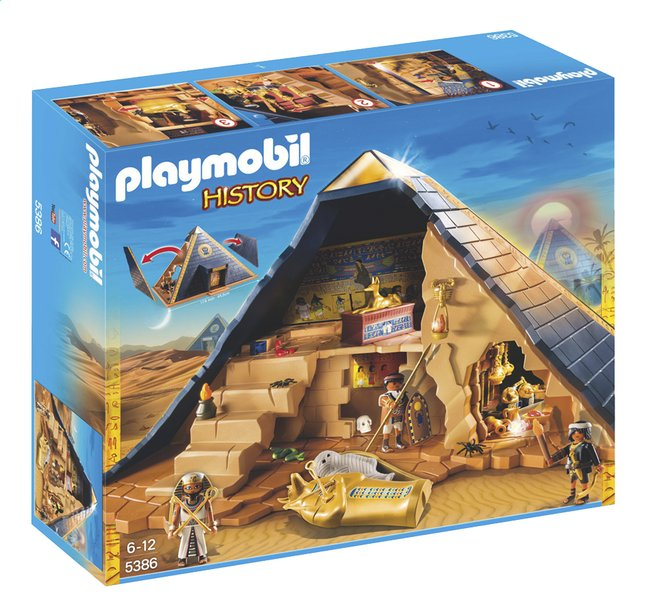 Afbeelding van PLAYMOBIL History 5386 Piramide van de farao from ColliShop