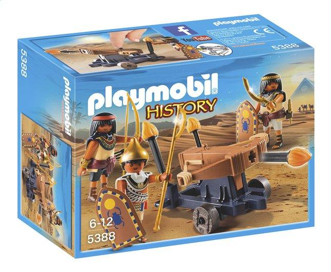Afbeelding van PLAYMOBIL History 5388 Soldaten van de farao met ballista from ColliShop