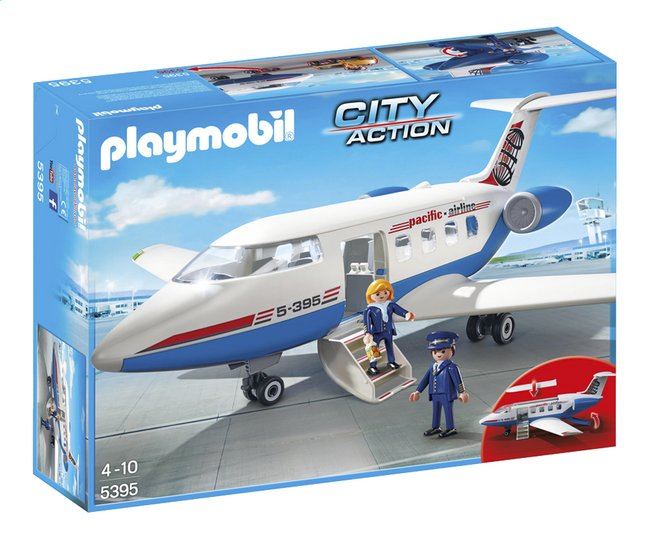 Afbeelding van Playmobil City Action 5395 Chatervliegtuig from ColliShop