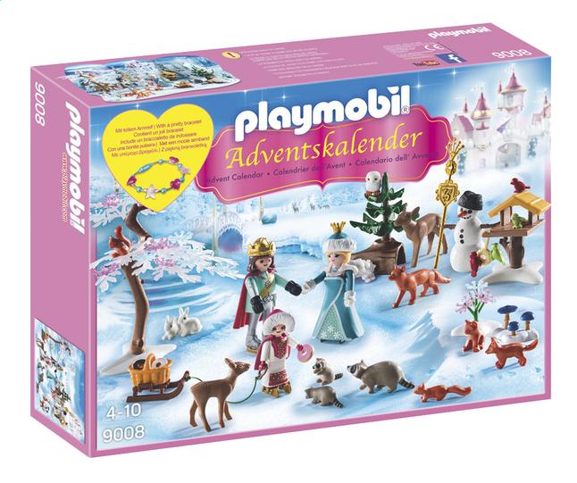 Image pour Playmobil Christmas 9008 Calendrier de l'Avent Famille royale en patins à glace à partir de ColliShop
