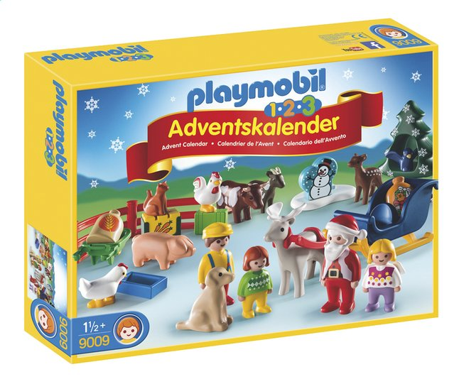 Image pour Playmobil Christmas 9009 Calendrier de l'Avent 1.2.3 Noël à la ferme à partir de ColliShop