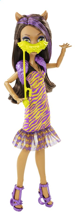 Afbeelding van Monster High mannequinpop Dance the Fright Away Clawdeen from ColliShop