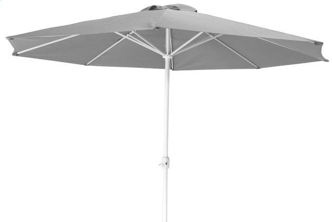 Image pour Parasol en aluminium diamètre 3,5 m gris à partir de ColliShop