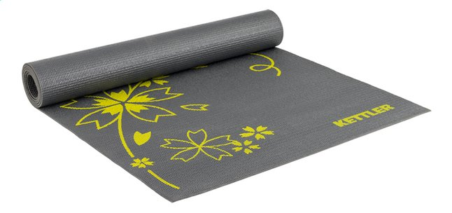 Afbeelding van Kettler Fitnessmat Basic antraciet/geel from ColliShop
