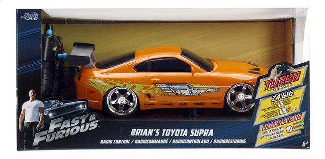 Toyota Rc Fastamp; Supra Voiture Furious sQChtrd
