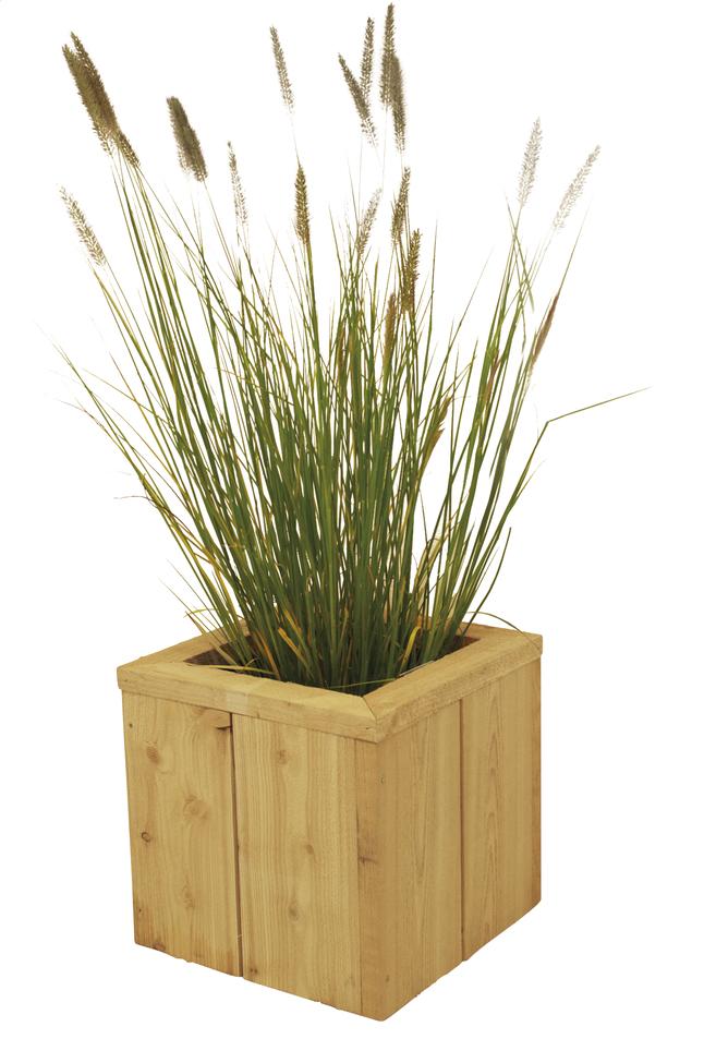 Image pour Jardinière Asper 40 x 40 x 40 cm à partir de ColliShop