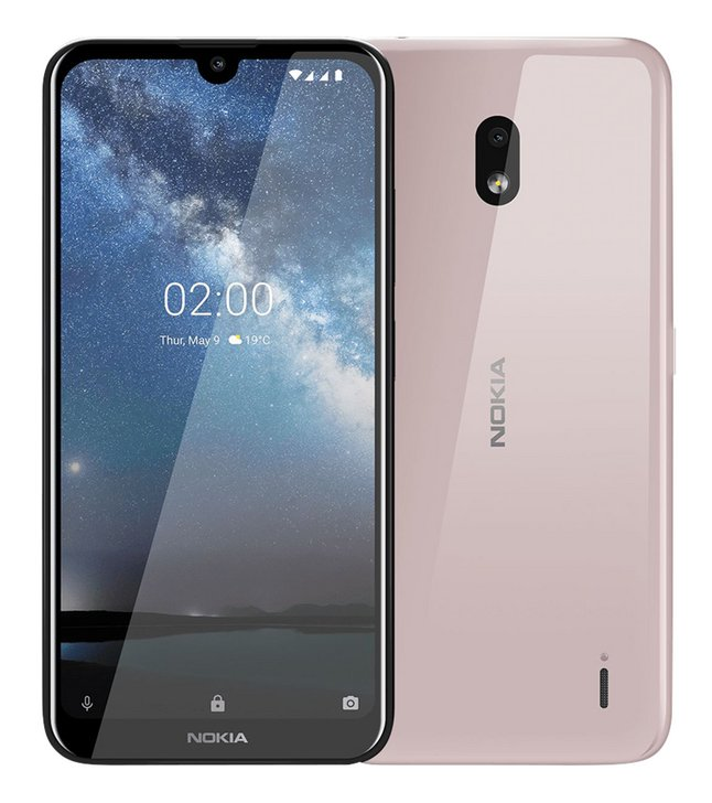 Nokia coque pour Nokia 2.2 pink sand