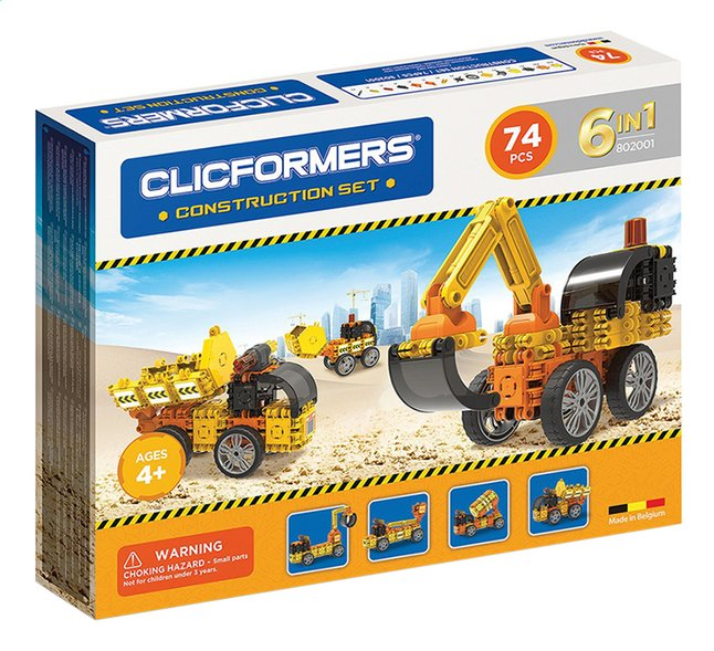 Clicformers Construction set 6-in-1