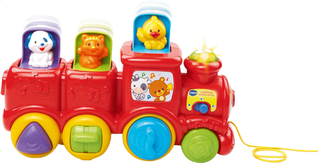 Afbeelding van VTech dierentrein Kiekeboe from ColliShop