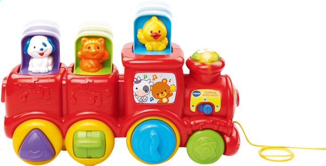 Afbeelding van VTech Roul'train cache-cache FR from ColliShop