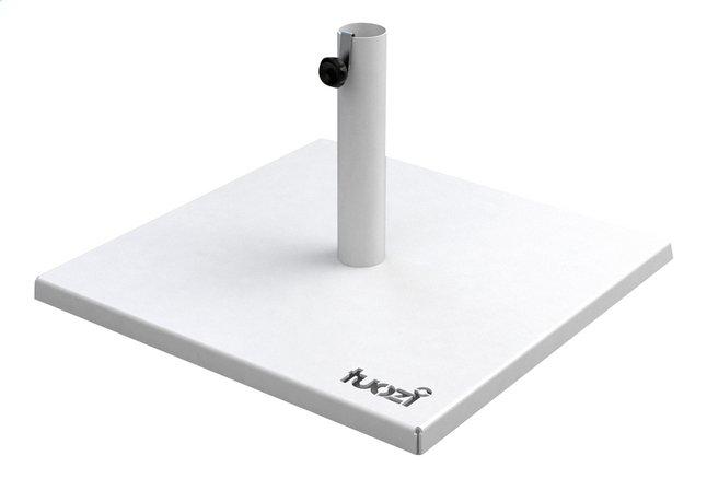 Image pour Tuozi Pied de parasol en acier Less 17 kg blanc à partir de ColliShop