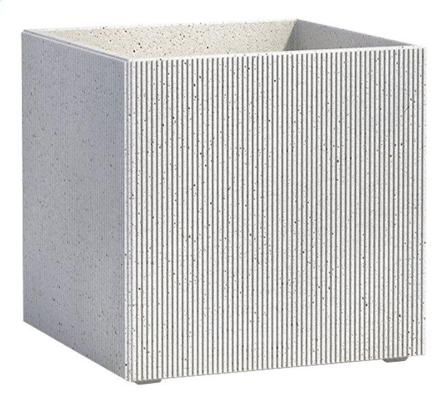 Image pour Cosapot's Pot carré Milano whitestone à partir de ColliShop