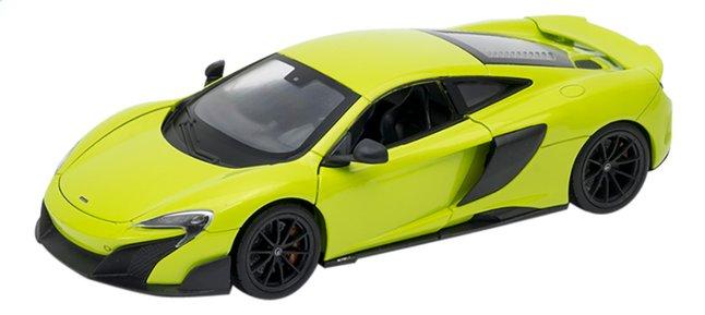 Afbeelding van Welly auto McLaren 675LT groen from ColliShop