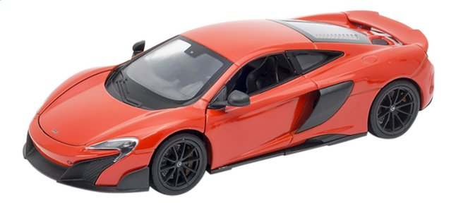 Welly auto McLaren 675LT rood