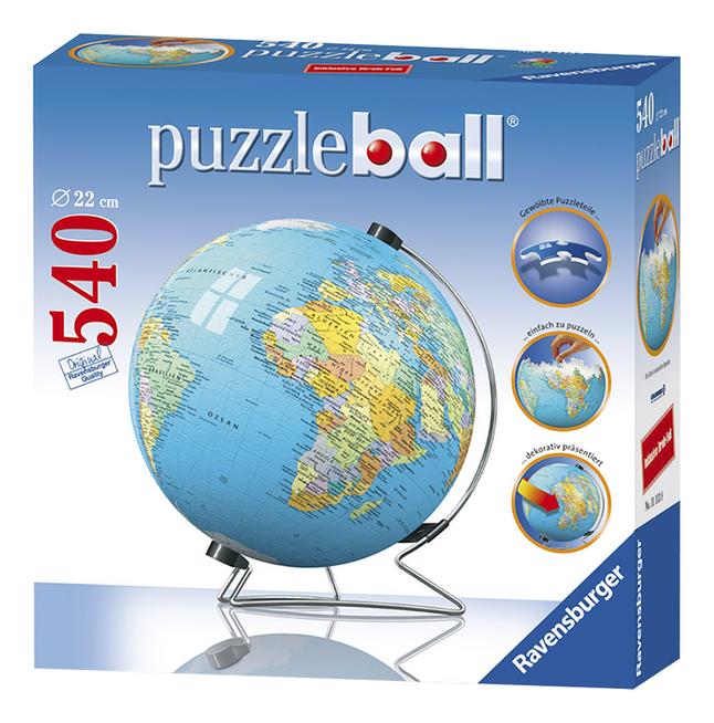 Image pour Ravensburger puzzleball globe terrestre NL à partir de ColliShop