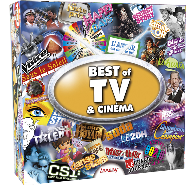 Image pour Best of TV & Cinéma à partir de ColliShop