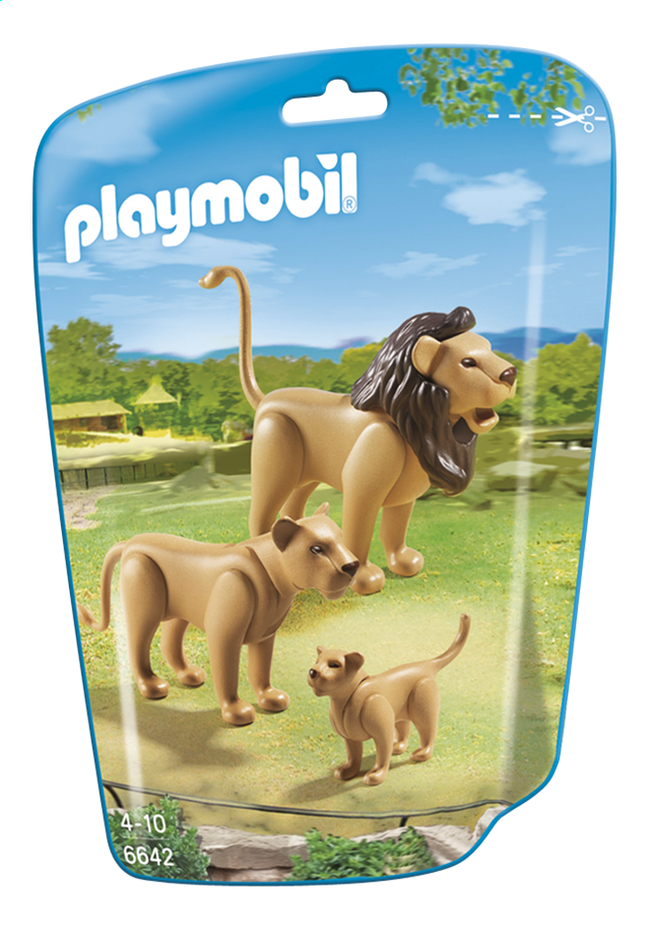 Afbeelding van Playmobil City Life 6642 Leeuwenfamilie from ColliShop